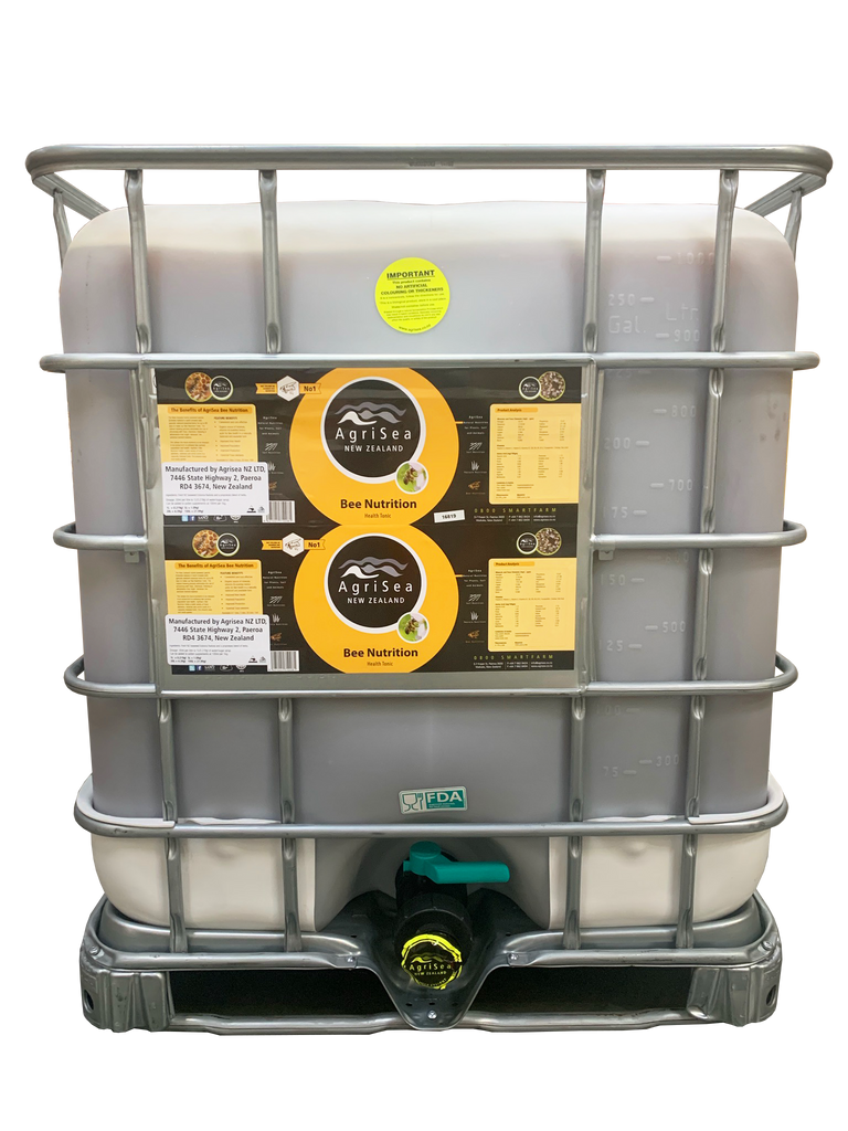 AgriSea Bee Nutrition - 264.2 gal. / 1000 L (8802 Doses)