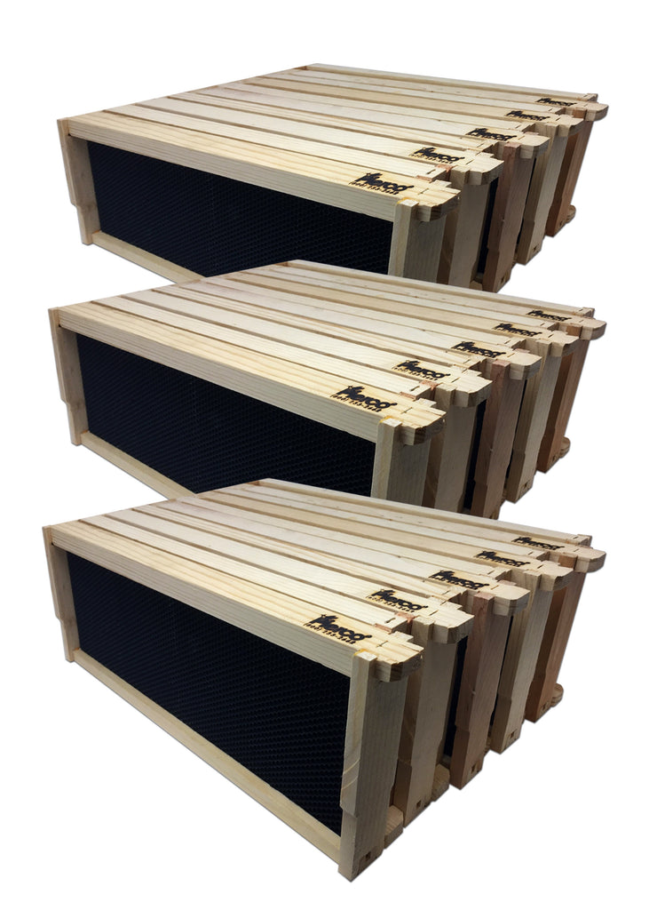 "6"" Medium Wood Frame, Black Foundation - 57 Pack ($2.68 ea.)"