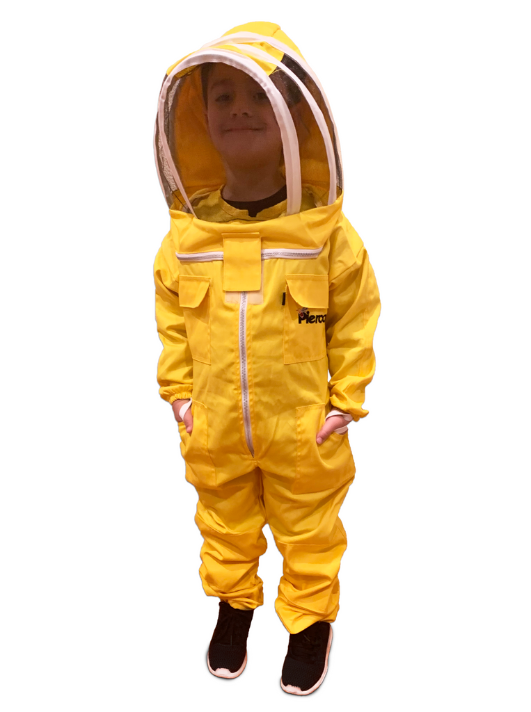 Kids / Child Beekeeping Suit . Protective Bee Wear Yellow