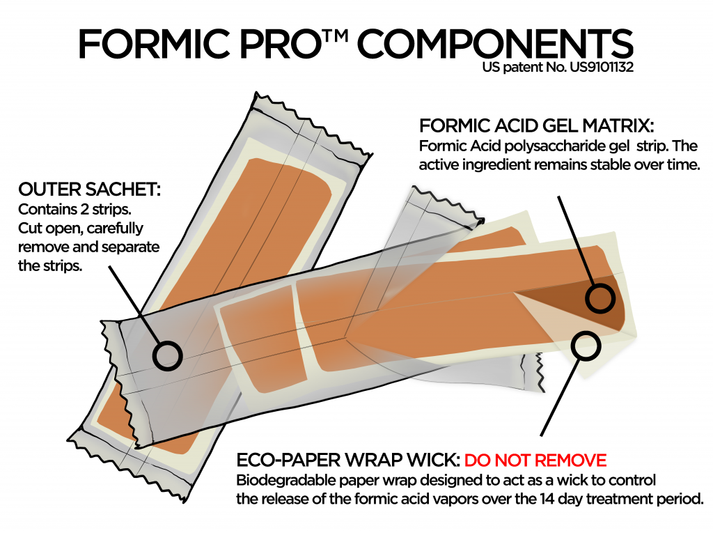 Formic Pro | 2 Dose Pack (4 Strips)