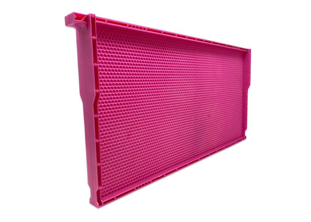 """PINK"" 9"" Deep Plastic Frame Double Waxed - 52 pack ($3.99 ea.)"