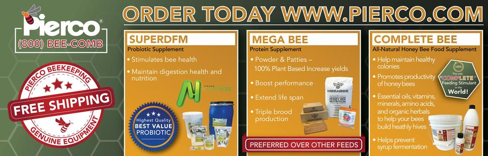 Feed & Treat Your Bees With the Best! Order Today!