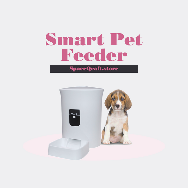 Auto Pet Feeder (with voice  recording - 8L)