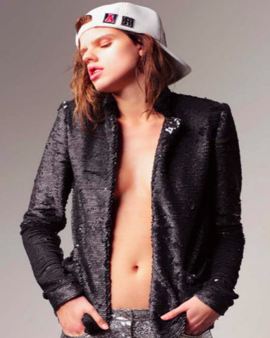 American Retro - Gloria Sequin Jacket