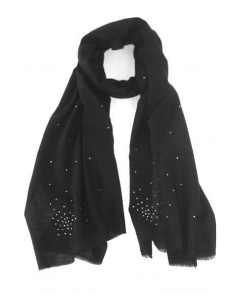 Caviar & Cashmere - Crystals Allover Scarf
