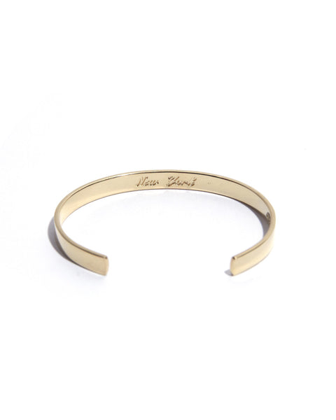 Coordinates - New York Gold Legend Bracelet