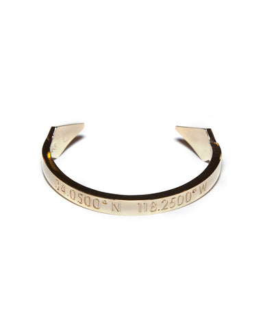 Coordinates - Los Angeles Gold Bracelet