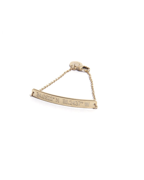 Coordinates - Los Angeles Gold Nile Bracelet