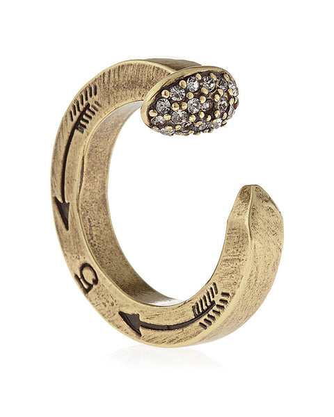 Giles & Brother - Brass Oxide Railroad Spike Ring