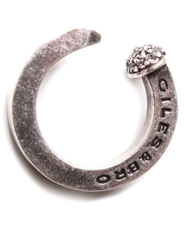 Giles & Brother - Silver Oxide Railroad Spike Ring