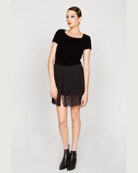 harlyn - Mets Fringe Dress