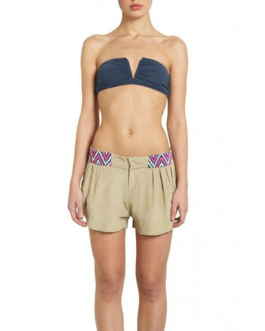 Mara Hoffman - Beaded Silk Shorts