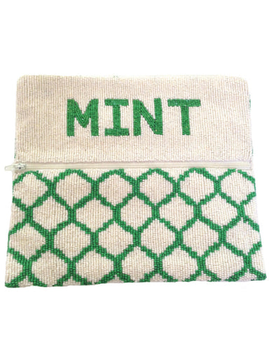 A.sweeT. Exclusive Mint Candy Clutch