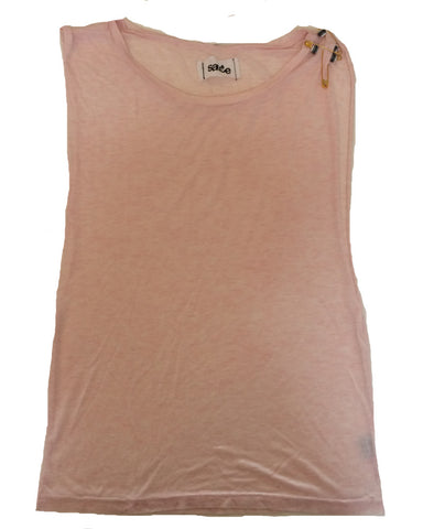 Sauce - Sleeveless Baggy Tee