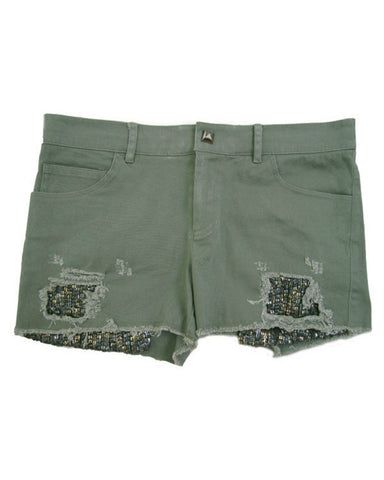 Son of John - Gam-o-Rama Army Green Shorts