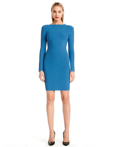 Torn by Ronny Kobo - Coco Blue Dress
