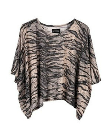 Torn by Ronny Kobo - Elonore Animal Print Tee