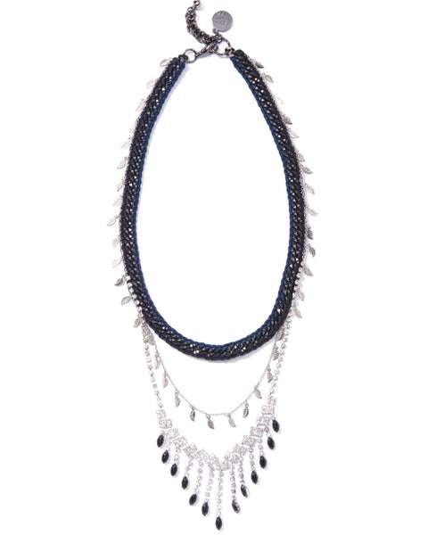 Venessa Arizaga - Let It Rain Sapphire Necklace