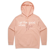 "Load image into Gallery viewer, HOODIE ""GOOD VIBES FLOW"""