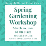Mar 20th 10am - Spring Gardening Workshop with Amanda Streets of Living Roots Eco Design