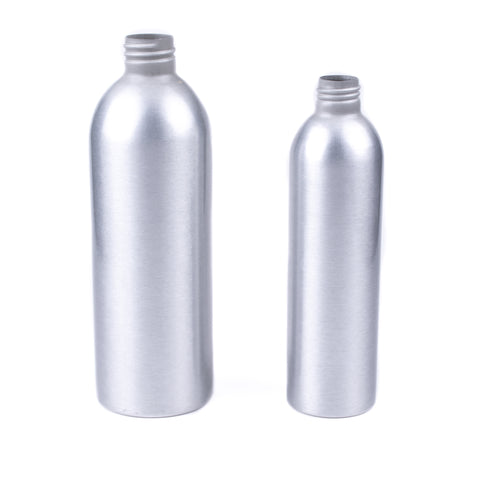 Brushed Aluminum Bottle