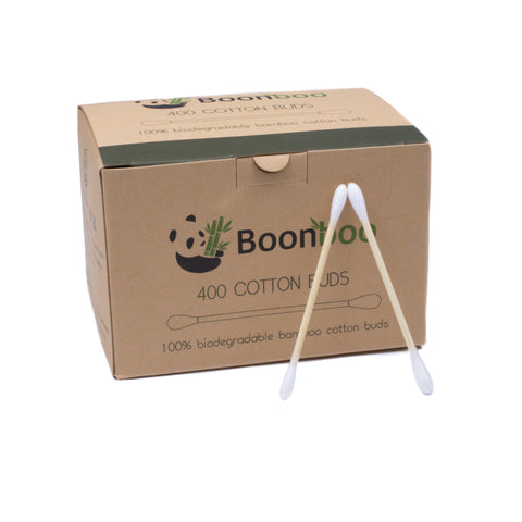 Bamboo & Cotton Swabs - 400 count