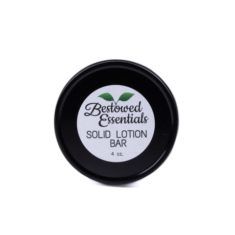 Bestowed Essentials Solid Lotion Bar in Metal Tin