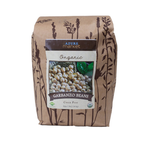 Dried Garbanzo Beans (Chick Peas) - Organic