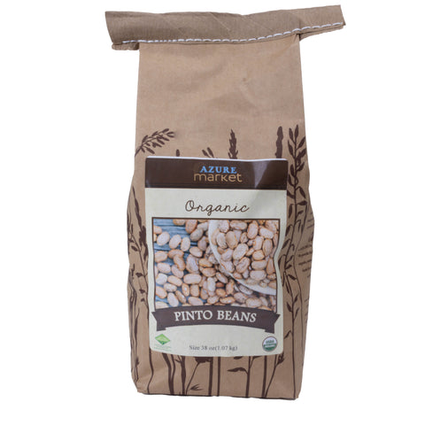 Dried Pinto Beans - Organic - 38 oz