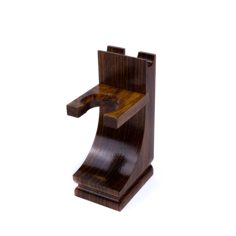 Mission Style Wood Shaving Stand