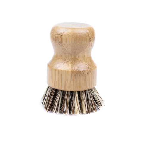 Natural Scrub Brush - Pots & Pans Scrubber