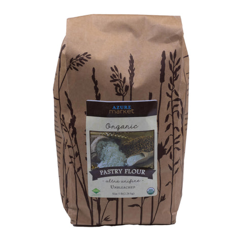Pastry Flour - Unbleached - Organic