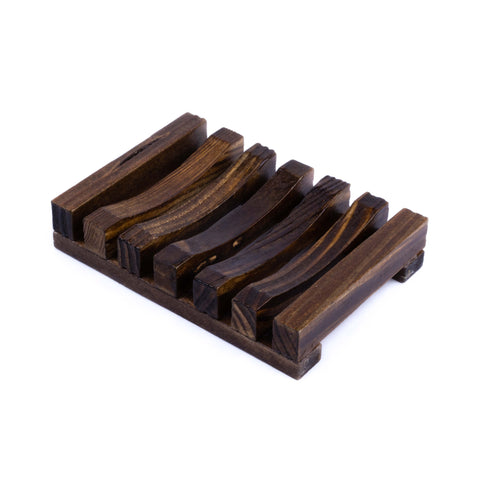 Wooden Soap Dish - Rectangle