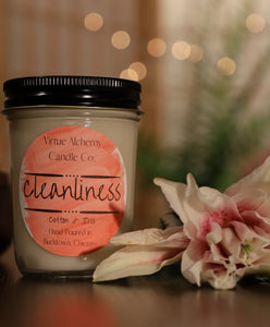 Cleanliness | Cotton & Iris (Jar)