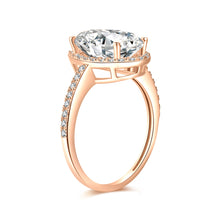 Load image into Gallery viewer, Moissanite vintage engagement rings 18K Yellow Gold Center Moissanite 12*8MM*1-4.5ct