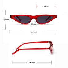 Load image into Gallery viewer, Livmall Womens Narrow Sunglass