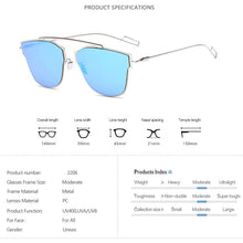 Load image into Gallery viewer, Livmall Rimless Cat Eye Unisex Sunglass