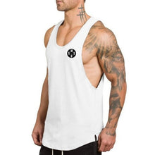 Load image into Gallery viewer, Livmall Fitness sleeveless vest Tanktop