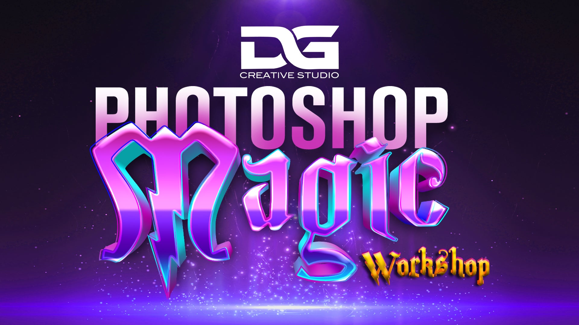 DG Creative Studio's Photoshop Magic: Design Workshops