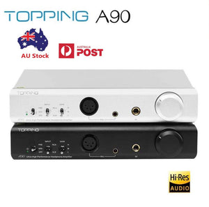 TOPPING A90 Hi-Res Desktop XLR Fully Balanced Headphone Amplifier