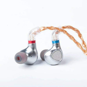 TINHIFI P2 2nd Gen Planar Earphone Metal In-Ear Earphones HIFI Music Monitor Headset With 2PIN Replaceable Cable