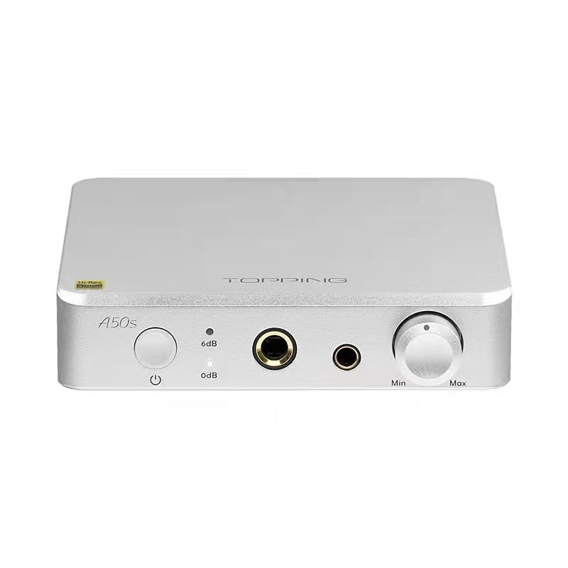TOPPING A50s 4.4mm Balanced 6.35mm Single-Ended Flagship NFCA Hi-Res Audio Pre AMP Headphone Amplifier