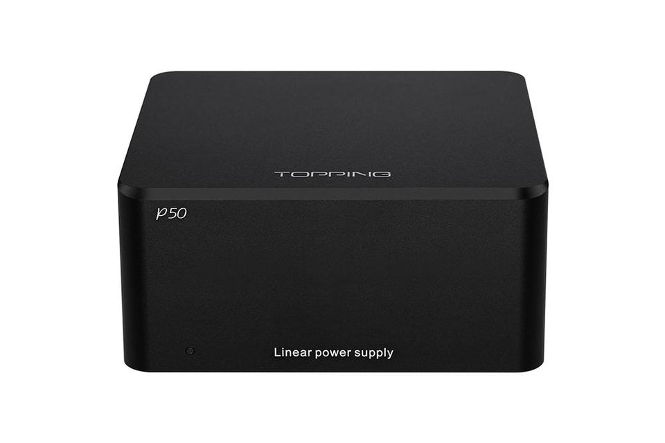 TOPPING P50 Linear Power Supply Compatible with Global voltage 115V/230V