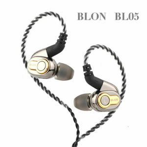 BLON BL-05 10mm 2nd Generation CNT Diaphragm HIFI In-Ear Earphone 0.75mm 2Pin