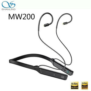 SHANLING MW200 Bluetooth5.0 DAC/AMP HiFi Earphone MMCX Neckband Adapter with MIC