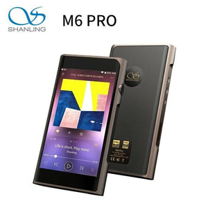 SHANLING M6 Pro Dual AK4497EQ Bluetooth Portable Hi-Res Music Player (Black)