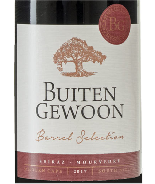 Buitengewoon Barrel Select Shiraz Mourvedre
