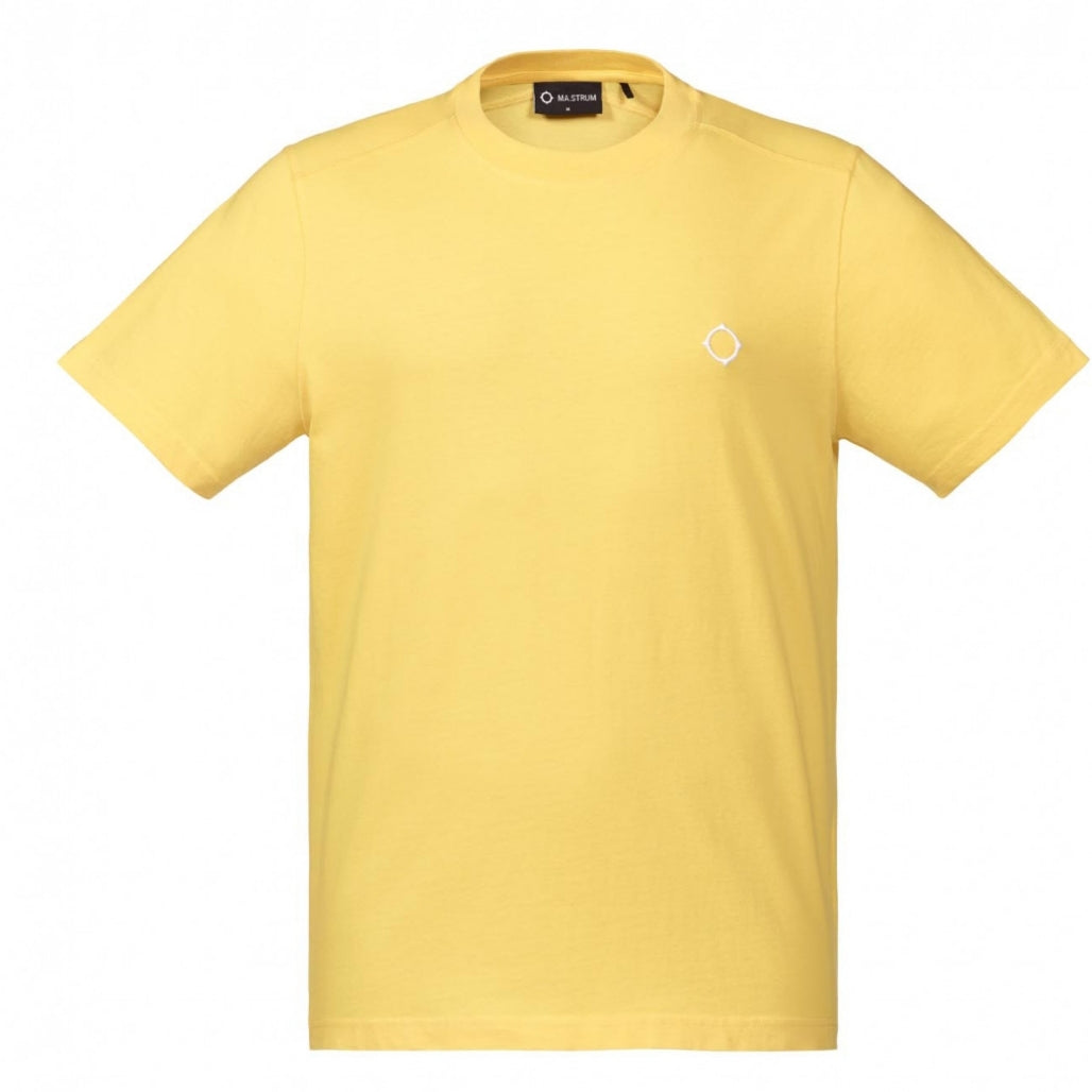 MA.Strum Icon Tee Shirt Citrus Yellow