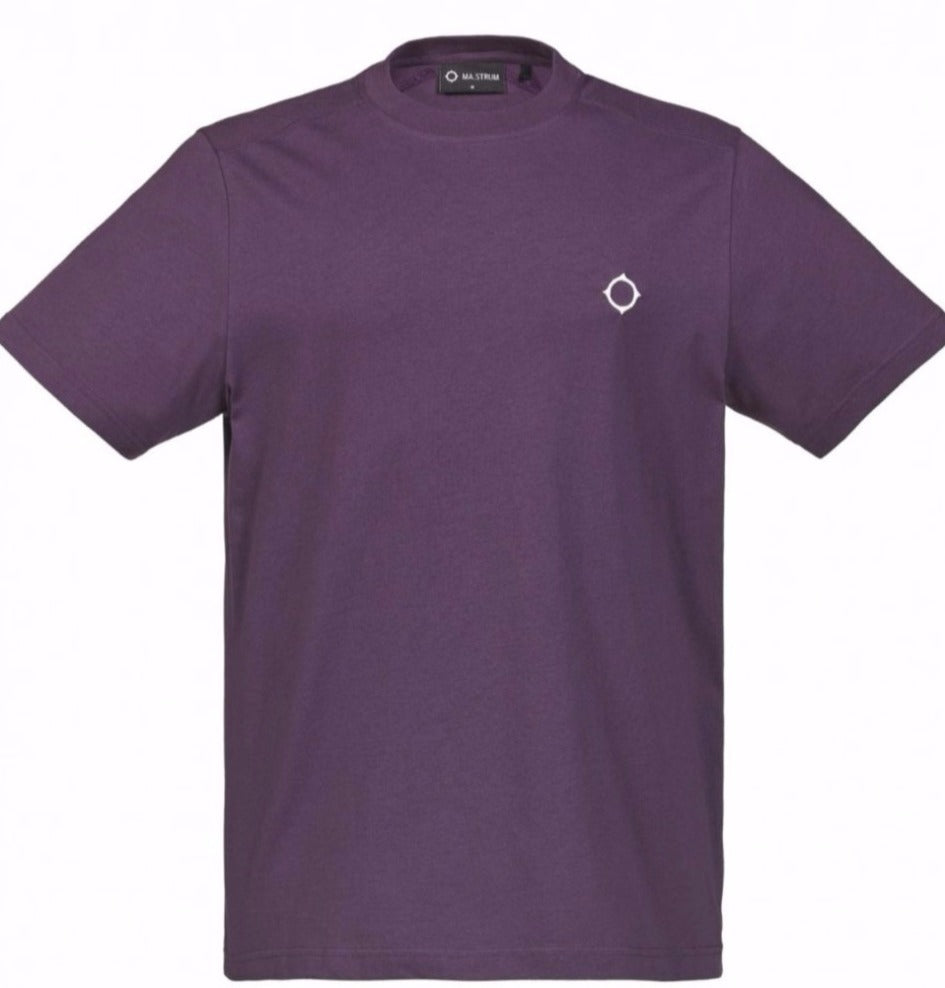 MA.Strum Icon Tee Shirt Aubergine