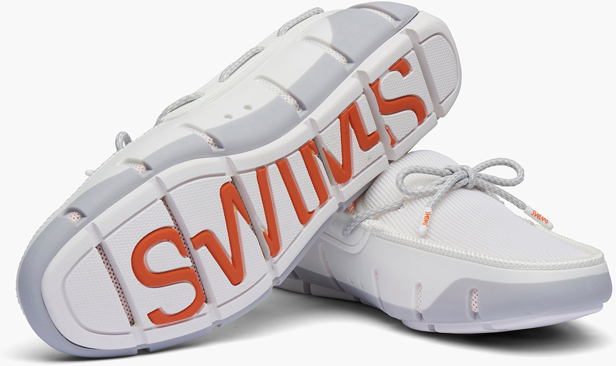 "Swims ""STRIDE"" Loafer White/Alloy"